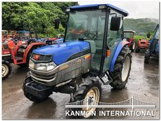 UsedJapaneseTractors.jp : ISEKI GEAS AT 50 CABIN 4WD 50th, Cabin, Tractor, Cabins, Cottage, Cubicle