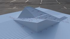 Gallery–Ludwig Museum :The largest museum initiative has garnered two winning entries. SANAA and Snøhetta have created proposals for Budapest's New National gallery and Museum. Dynamic Architecture, Architecture Concept Diagram, Library Architecture, Stairs Architecture, Architecture Portfolio, Architecture Design, Architecture Models, Architecture Diagrams, Space Projects