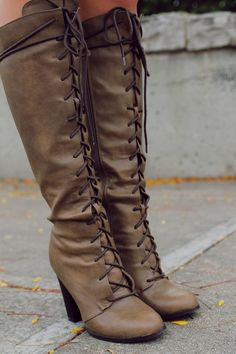 dd9801282ed Strut In Style Boot. Lace Up Riding BootsLaced ...