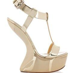High Heel Shoes with No Heel