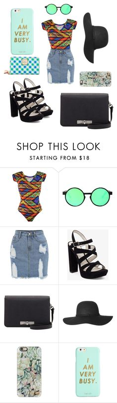 """""""#Colorful"""" by mappfrance ❤ liked on Polyvore featuring CCM, Chicnova Fashion, BCBGeneration, Charles Jourdan, Casetify, ban.do and Dooney & Bourke"""