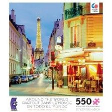 Around the World: Paris, France - Jigsaw Puzzle by Ceaco (discon) Kids Jigsaw, 500 Piece Jigsaw Puzzles, World Puzzle, Most Popular Artists, Famous Names, France Photography, Thomas Kinkade, Travel Posters, Paris France
