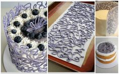 Tartas, Galletas Decoradas y Cupcakes: Técnicas de Decoración con Chocolate