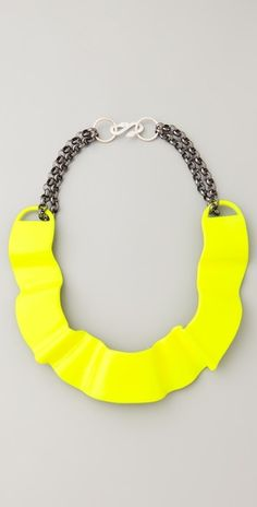 ONE by T. Cyia Neon choker necklace.