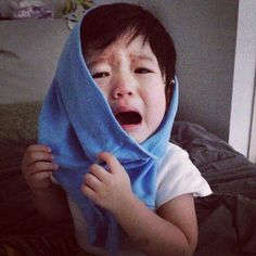 Baekhyun, Got7, Love You Very Much, Exo Memes, Kpop Exo, Chanbaek, Your Smile, Cute Kids, Crying