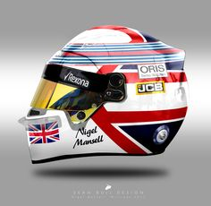Nigel Mansell - Sean Bull Design