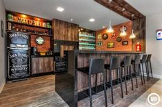 Trendy Home Bar Decorations Man Cave Ideas Games Room Inspiration, Coffee Bar Home, Coffe Bar, Coffee Shop, Home Pub, Trendy Home, Bars For Home, Home Buying, Man Cave