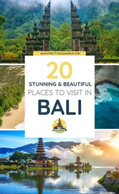 Places to visit in Bali Are you interested in beaches, honeymoon destinations, resorts, shopping, te Beach Honeymoon Destinations, Best Honeymoon, Amazing Destinations, Travel Destinations, Travel Tips, Travel Packing, Vacation Travel, Italy Vacation, Travel Goals