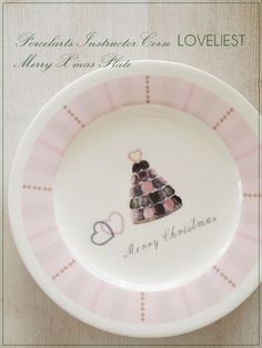 お皿 Ceramic Design, All Things Christmas, Painting Inspiration, Dinnerware, Plates, Ceramics, Tableware, Glass, Porcelain Ceramics