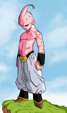Kid Buu! Coolest villain ever growing up!