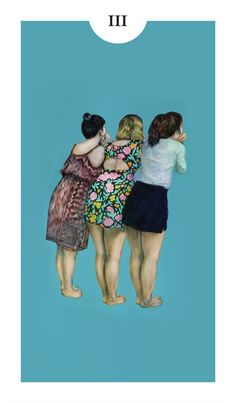 Three of Cups by Melissa Ling