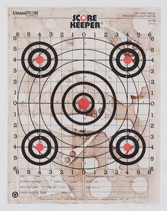 Paper Target Series: Scorekeeper 45726