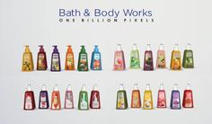 Bath and body works custom content.