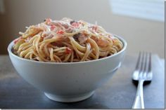 Mama's Chicken Spaghetti by Yes, I want cake.