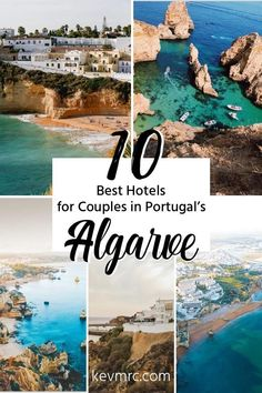 Planning a couple trip to Algarve Portugal? And youre looking for the best hotel for this romantic trip? Find in this list of the 10 best hotels in Algarve for couples the perfect place for your stay. Portugal Vacation, Hotels Portugal, Portugal Travel Guide, Visit Portugal, Europe Travel Guide, Spain And Portugal, Travel Destinations, Faro Portugal, Romantic Destinations