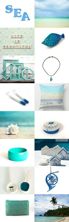 Sea  by Art Prints on Etsy--Pinned with TreasuryPin.com