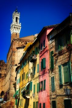 Colors of Siena, Italy - beautiful place to visit