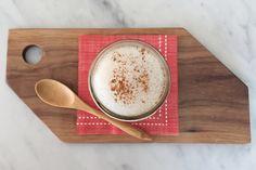 Healthy, guilt free pumpkin spice latte