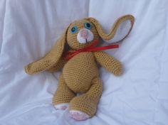 Lapinou le doudou lapin par COUCOUMAINS sur Etsy