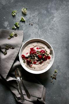 Raw Buckweat Porridge with Cherries | Foodlovin'