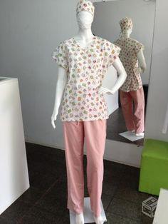 Estilo Jeans, Medical Uniforms, Doctors, Scrubs, Peplum, Women, Fashion, Nursing Pajamas, Outfit Work
