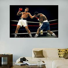 Ali-Frazier Fight Mural Fathead Wall Decal