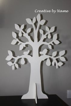 Wooden Tree Display - pear