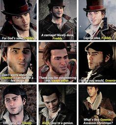 Jacob frye and nicknames