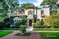 For sale: $1,095,000. This spanish renaissance masterpiece was designed in 1925 for joseph butler and his wife lillian. The butlers, who lived at the drake, used it as their summer home until 1935, when they moved there permanently. The current owners have lovingly restored, renovated, and expanded this wonderful home for today's lifestyle. From the floor to ceiling stained glass windows and marble floors in the grand living area, to the resort-like gardens that lead to a separate guest h...