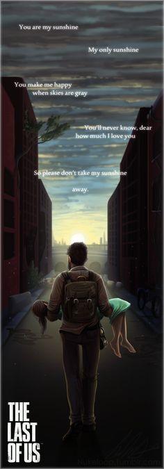 SPOILERS Last of Us: Sunshine by NuclearLoop.deviantart.com on @deviantART