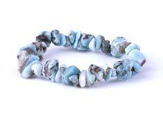 naramok-larimar-sekany Beaded Bracelets, Jewelry, Fashion, Moda, Jewlery, Jewerly, Fashion Styles, Pearl Bracelets, Schmuck