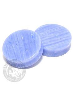 Blue Grain Agate Stone Plugs