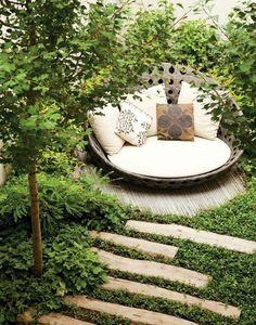 secret lounging area