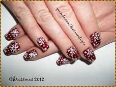 Christmas Nail Art by devinevolupta from Nail Art Gallery