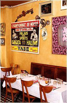Chez Paul Restaurant     Paris Parisian Lunch