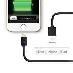 10 Ft Lightning Cable for iPhone 6 / 6 Plus, 5s / 5c / 5, iPad Air 4 iPad Mini Retina, iPod Nano 7th Generation, Charging Sync Data Cable by Hype® [Apple MFi Certified] Hype http://www.amazon.com/dp/B00NQAMOK0/ref=cm_sw_r_pi_dp_i5Rrub1ZP90HN