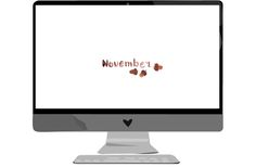 Download: November Wallpaper | we love handmade
