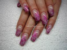 snowflakes #nail #nails #nailart