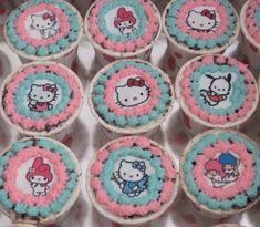 Cupcakes decorados con impresion comestible H.K.