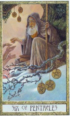 tarot 6 of pentacles - Google Search