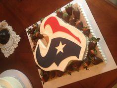 Texans grooms cake!