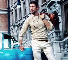 Massimo Dutti New York Collection Limited SS 2014 ~ David James Gandy