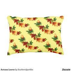 Autumn Leaves Accent Pillow
