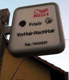 """Friseurladen """"VorHair-NachHair"""" in Potsdam von Sascha Burk, Berlin  In der Gesamtbetrachtung MIT der Gestaltung (welcher?) sicher ganz weit vorn."""