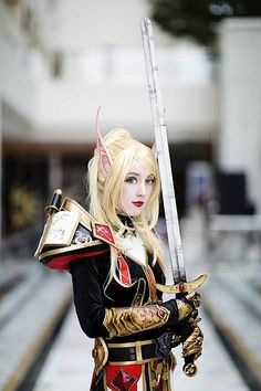 World of Warcraft Blood Elf cosplay, so