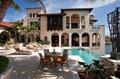 The Backside - Herscoe Hajjar Architects - Naples, Florida