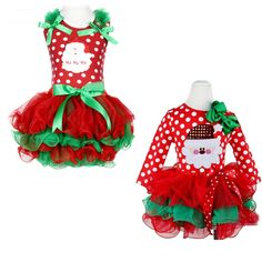 2016 new girls Christmas Dot people dress suit children cotton dress Christmas red baby clothes retail(China (Mainland)) Christmas Dress Up, Girls Christmas Outfits, Baby Girl Christmas, Christmas Clothing, Elf Costume, Baby Costumes, Girls Dress Up, Winter Dresses, Girl Outfits