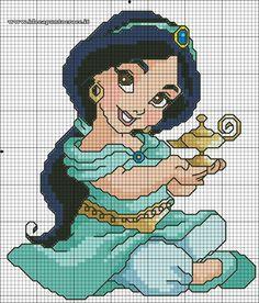 SCHEMA JASMINE BABY PUNTO CROCE