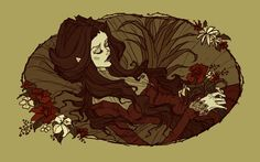 The Death of Ophelia by AbigailLarson.deviantart.com