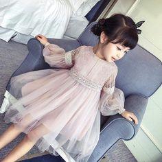 Big Girl and Toddler Holiday Dress #KidsFashion